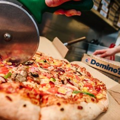 Concept pour la franchise Domino's Pizza - Domino's pizza